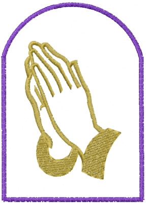 eb68281d4cd8c Praying Hands Embroidery Designs, Machine Embroidery Designs at ...