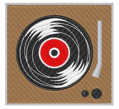 Vinyl Record Player Embroidery Designs Machine Embroidery Designs