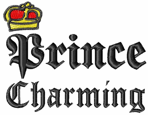 Prince Charming Embroidery Designs Machine Embroidery Designs At Embroiderydesigns Com