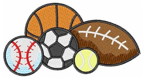 Sports Designs Embroidery 15