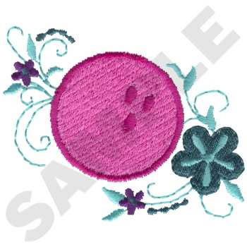 bowling machine embroidery designs
