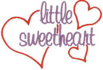 Free Machine Embroidery Designs Little Sweetheart