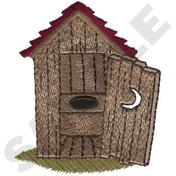 Outhouse Embroidery Designs, Machine Embroidery Designs at ... on