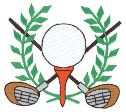 Golf Crest Embroidery Designs Machine Embroidery Designs