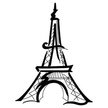 Artistic Eiffel Tower Embroidery Designs Machine Embroidery Designs