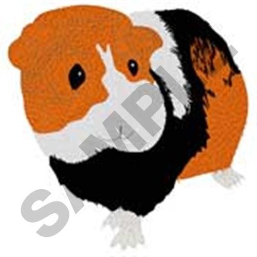Guinea pig embroidery designs machine