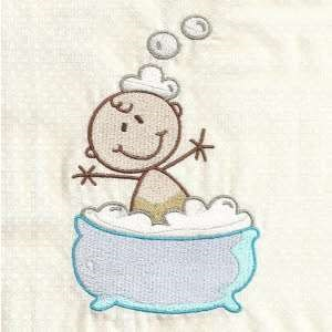 Baby bath embroidery designs machine embroidery designs for Bathroom embroidery designs