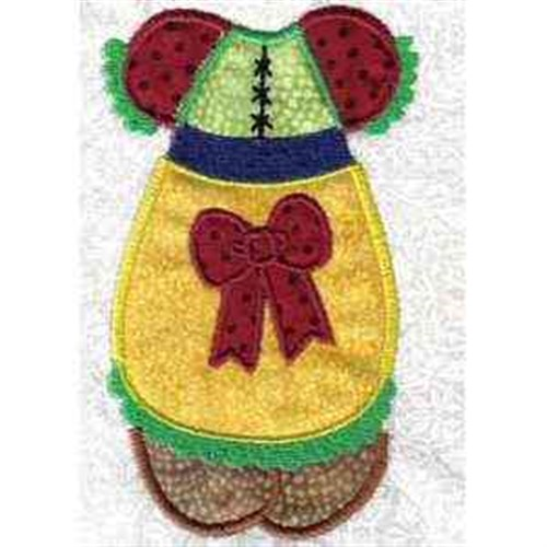 Paper doll clothes embroidery designs machine