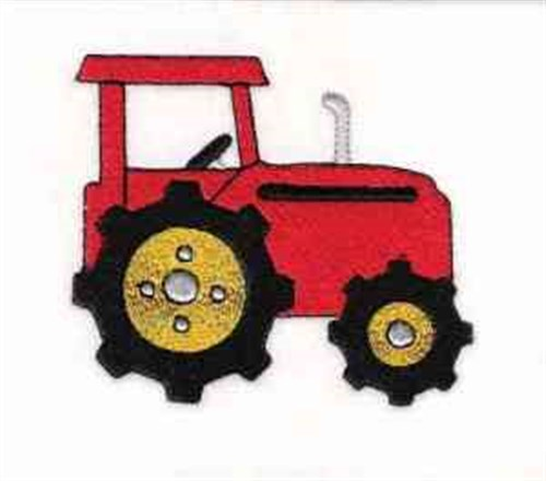 Embroidery Of Tractors : Farm tractor embroidery designs machine