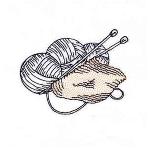 Colorwork knitting embroidery designs machine