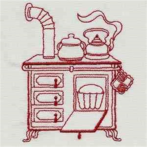 Vintage Kitchen Stove Embroidery Designs Machine Embroidery Designs At