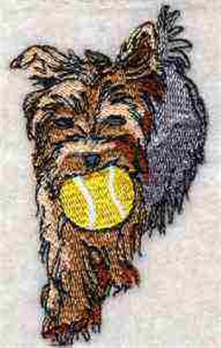 Yorkie terrier embroidery designs machine