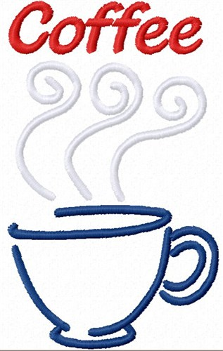 Cup Of Coffee Embroidery Designs Machine Embroidery Designs At EmbroideryDesigns.com