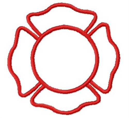 Blank Fire Badge Embroidery Designs, Machine Embroidery ...