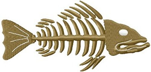 Fish Skeleton Embroidery Designs Machine Embroidery Designs At
