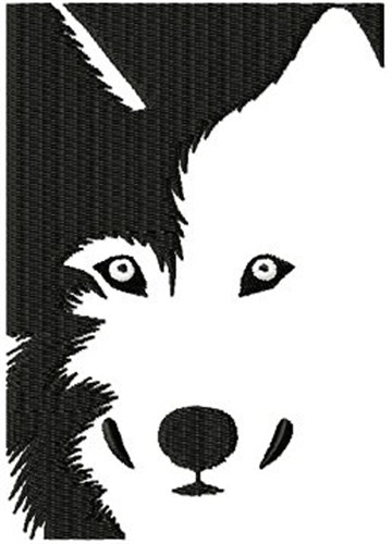 Husky Cut Out Embroidery Designs Machine Embroidery Designs At