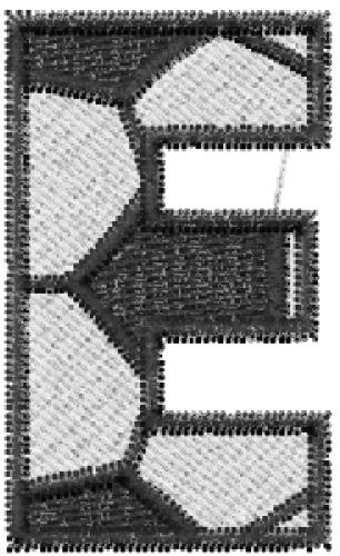 Soccerball Letter E Embroidery Designs, Machine Embroidery Designs ...