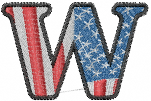 Machine Embroidery Designs at Embroidery Library ...  |The Letter W Designs