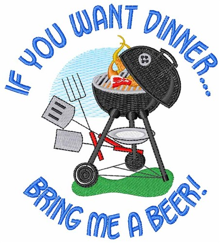 If You Want Dinner Embroidery Designs Machine Embroidery Designs At