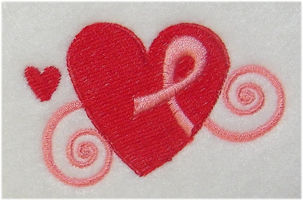 Embroidery Patterns Free Embroidery Design Pink Ribbon