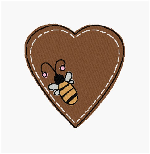 Honey bee embroidery designs machine