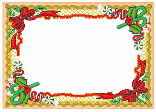 Christmas Border Embroidery Designs, Machine Embroidery ...