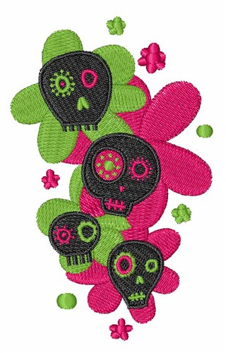 Sugar Skulls Embroidery Designs Machine Embroidery Designs At