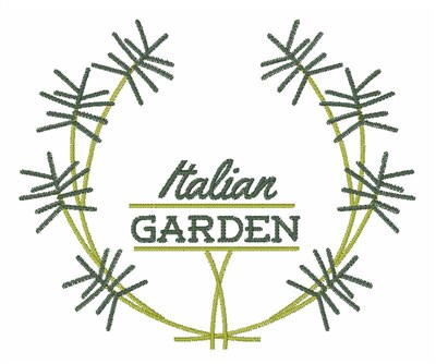 Italian garden embroidery designs machine embroidery for Garden embroidery designs free