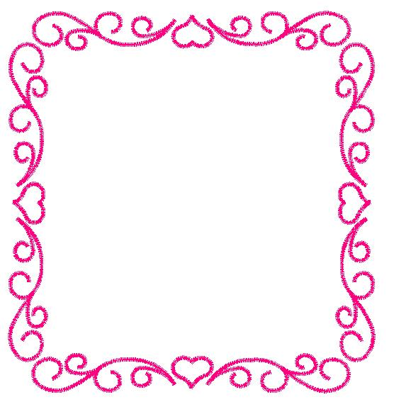 Heart Frame Embroidery Designs Machine Embroidery Designs At
