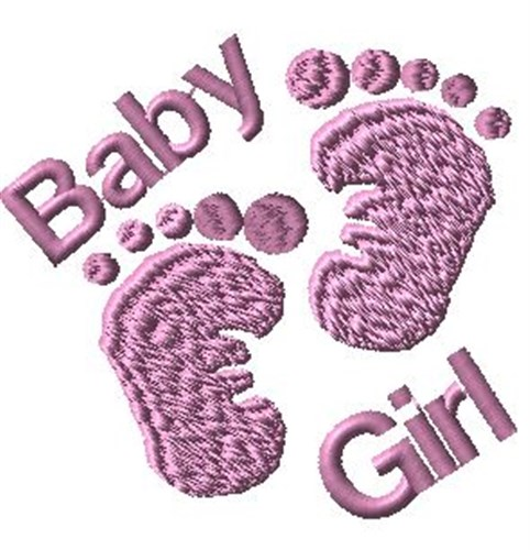 Baby girl embroidery designs machine