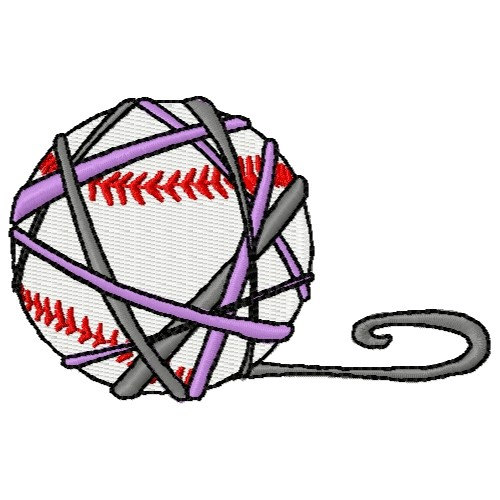 Yarn Baseball Embroidery Designs Machine Embroidery Designs At