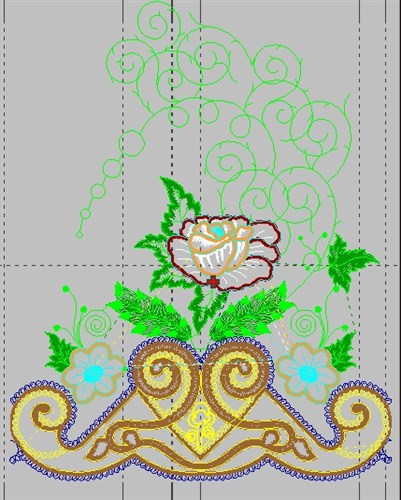 Bed Sheet Decor Embroidery Designs Free Machine Embroidery Designs