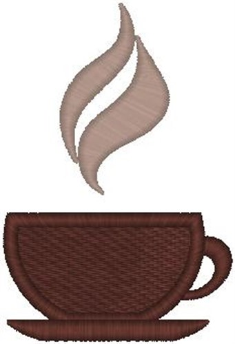Coffee Cup Embroidery Designs Free Machine Embroidery Designs At EmbroideryDesigns.com