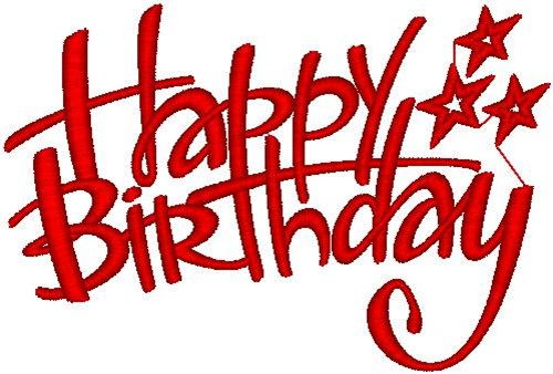 Happy Birthday Embroidery Designs, Free Machine Embroidery Designs ...