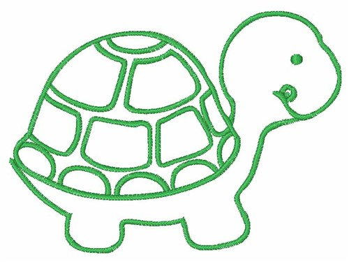 Turtle Outline Embroidery Designs Machine Embroidery Designs At EmbroideryDesigns.com