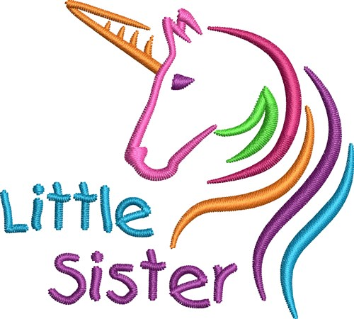 Colorful Unicorn Sayings Embroidery Designs Machine Embroidery