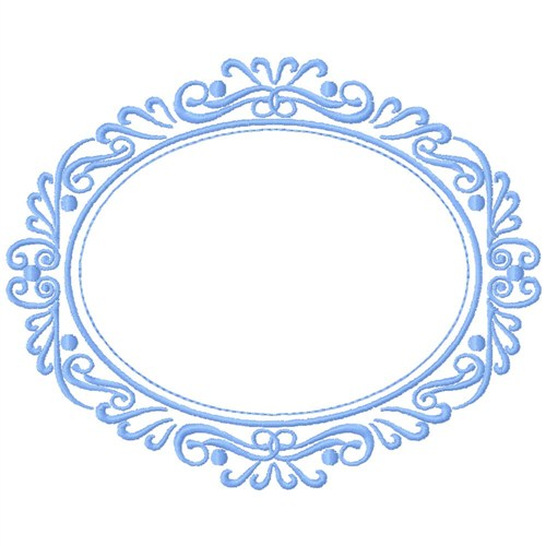 Circle Frame Embroidery Designs Machine Embroidery