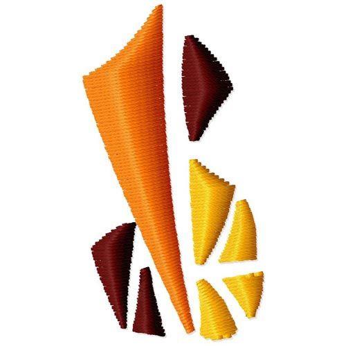 Geometric design embroidery designs machine