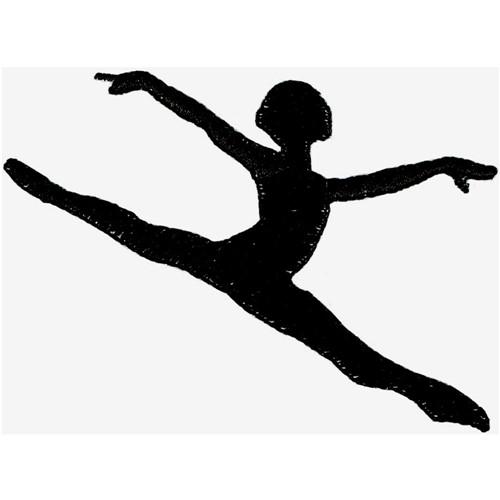 Dancer Silhouette Embroidery Designs Machine Embroidery Designs At Embroiderydesigns Com