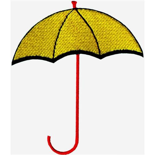 Umbrella embroidery designs machine at