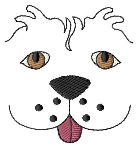 Dog Face Embroidery Designs Machine Embroidery Designs At