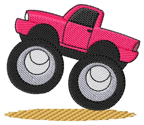 Monster Truck Embroidery Designs Machine Embroidery