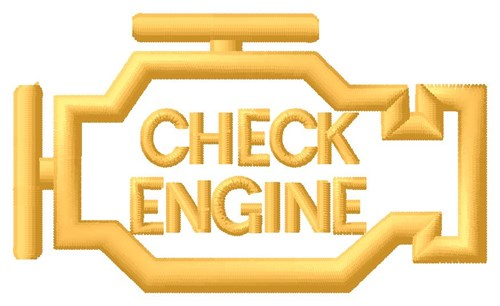 check engine light machine