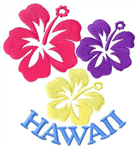 Hawaii Embroidery Designs Machine Embroidery Designs At