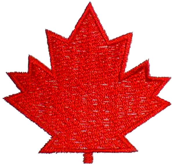 Maple leaf embroidery designs machine