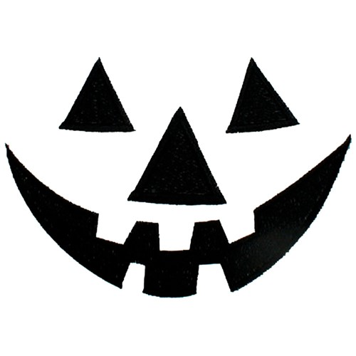 Jack O Lantern Face Embroidery Designs Machine Embroidery