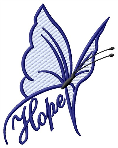 Faith Hope Cure Breast Cancer Awareness Ribbon Embroidery Design ...