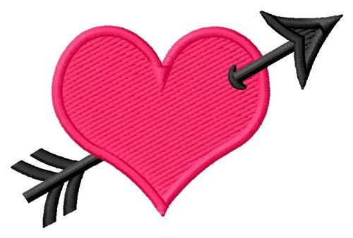Lace hearts applique design