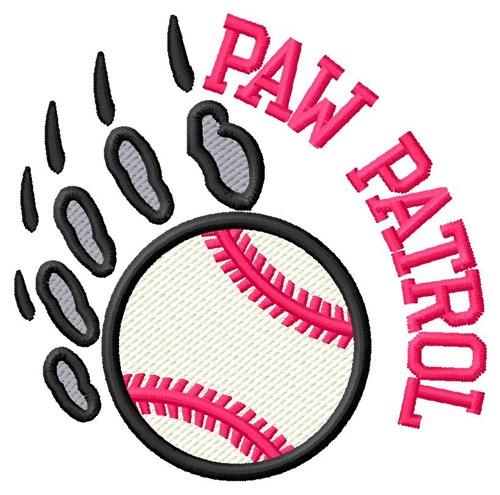 Bear Patrol Baseball Embroidery Designs Machine Embroidery Designs