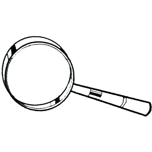 Magnifying Glass Outline Embroidery Designs Machine